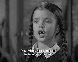 Wednesday Addams Meme - 17 signs that you are wednesday addams