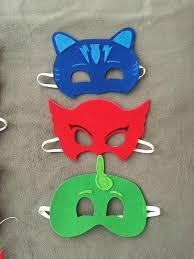 diy pj masks costumes diy pj mask party favors pj masks birthday