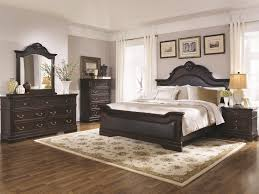 buy cambridge king bed with upholstered panels and shell carving