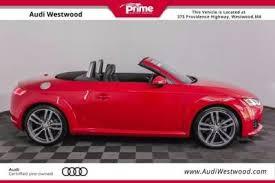 audi westwood used audi tt for sale in westwood ma cars com