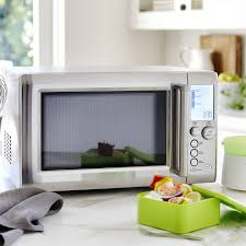 Microwave And Toaster Oven In One Breville Quick Touch Microwave Williams Sonoma