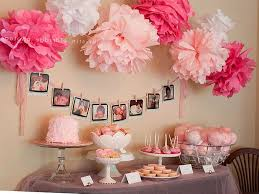 baby shower decor ideas baby girl shower decorations ideas photography image of ecbadbdcbe