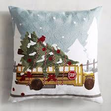 holiday throw pillows popsugar home