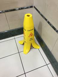 Wet Floor Images by This Wet Floor Sign Looks Like A Banana Imgur