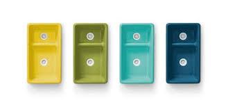 green kitchen sinks new kohler sink colors by jonathan adler kitchn