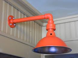 custom colored light fixture sconce barn light industrial