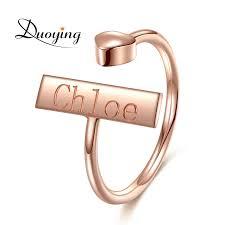Gold Monogram Rings Gold Monogram Rings Reviews Online Shopping Gold Monogram Rings