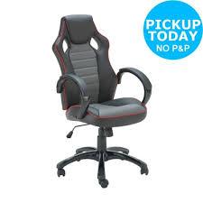 Surround Sound Gaming Chair Brazen Stag 2 1 Surround Sound Gaming Chair From The Argos Shop