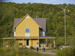 building a home in vermont energy comes from the sun wind and earth in this vermont leed