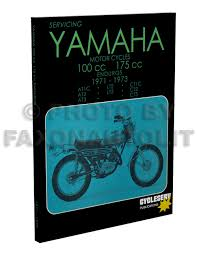 1971 1973 yamaha 100 175 cycleserv repair shop manual enduro