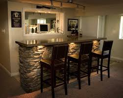 basement bar top ideas used dining room table and chairs small basement bar ideas