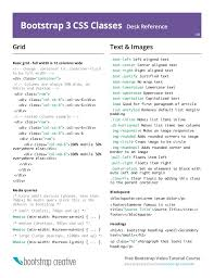 css tutorial pdf for dummies bootstrap 3 cheat sheet pdf reference