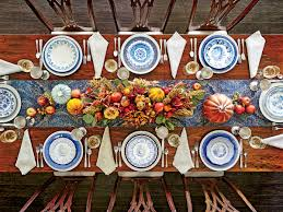 set an eye catching thanksgiving table with mismatched china