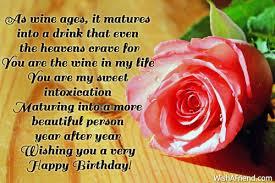 Wishing Happy Birthday To Birthday Wishes For Wife