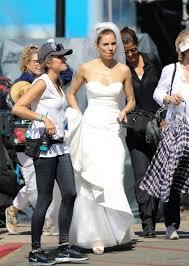 miller wedding dress bradley cooper and miller get married see wedding