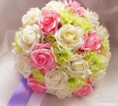 cheapest flowers silk flowers for wedding bouquets cheap wedding corners