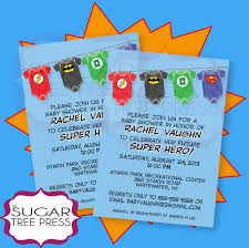 baby shower superhero invitations il fullxfull 480884247 hsly