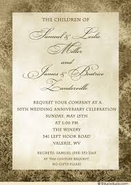 50th wedding anniversary program september 2015 invitations