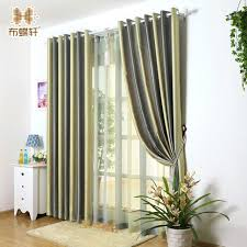 Blackout Yellow Curtains Aliexpress Com Buy Duplex Prints Mediterranean Style Gradient