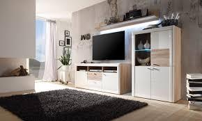 Led Beleuchtung Wohnzimmerschrank Wohnwand Modern Eiche Weiß Mxpweb Com