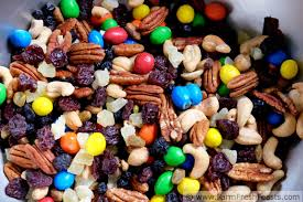 halloween cany farm fresh feasts trail mix with leftover halloween candy for