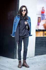denim jacket looks outdoor jacket