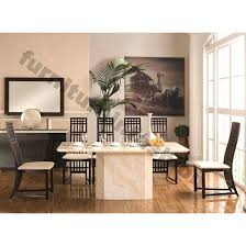 Granite Top Dining Table Dining Room Furniture Marble Dining Table And 6 Chairs U2013 Zagons Co