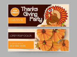 concept of header for thanks giving stock illustration