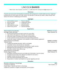 Sample Event Planner Resume Objective by Coordinator Resume Examples
