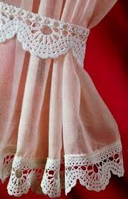 Crochet Lace Curtain Pattern 207 Best Croche Curtains Etc Images On Pinterest Crochet