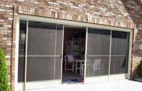 Patio Screen Doors Garage Screen Door Patio Enclosure Installation Gallery