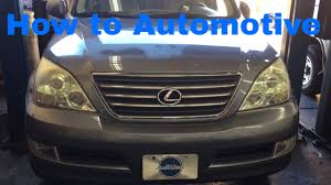 lexus truck 2004 how to replace the alternator on a 2002 2009 lexus gx470 youtube