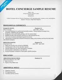 best server resume hotel server resume sample
