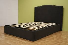 cheap queen size bed frames with storage wooden global