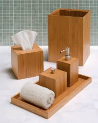 awesome idea bamboo bathroom set top 25 best accessories ideas on