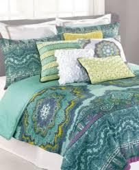 Echo Jaipur Comforter Nanette Lepore Villa Paisley Medallion King Comforter Set