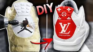 how to sand away your jumpman and customize a jordan back tab
