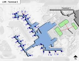 Heathrow Terminal 3 Information Desk London Heathrow Airport Lhr Terminal 3 Map