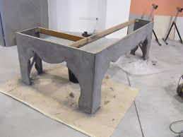 bureau beton ciré meubles en béton ciré nos applications pose de sol en béton