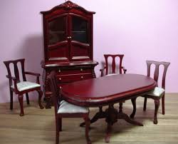 ebay furniture dining room mahogany victorian dining room set doll