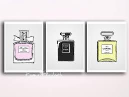 etsy wall art shenra com french perfume wall decor original by emilyswanderlust on etsy