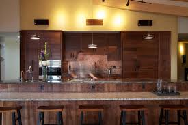 Black Walnut Kitchen Cabinets Earthship Farmstead Contemporary Kitchen Portland Maine By