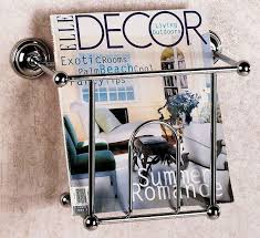 Magazine Rack Bathroom by Amazing Wall Magazine Rack Storage Decor For Your Rooms