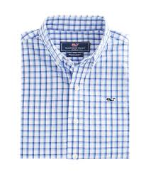 shop boys lamson check whale shirt at vineyard vines