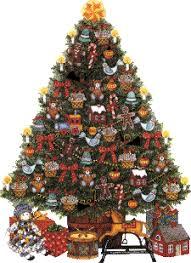 fashioned christmas tree fashioned christmas tree clip 60