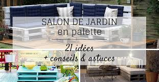 construire un canape avec des palettes salon de jardin en palette 21 idées à découvrir