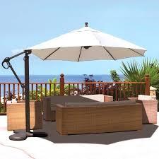 Clearance Patio Umbrella Impressive Cantilever Patio Umbrella Furniture White Ideas Deas