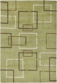 Modern Green Rugs Green And Brown Area Rugs Visionexchange Co