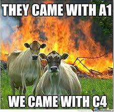 The Darkness Meme - evil cow 3 the darkness cow by raziel1silver meme center