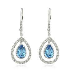 dangle earing best topaz dangle earrings photos 2017 blue maize